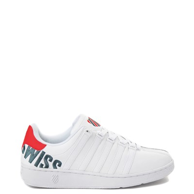 Main view of Mens K-Swiss Classic VN XL Logo Athletic Shoe - White / Red