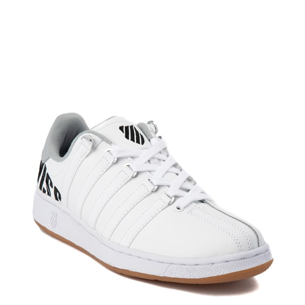 alternate view Mens K-Swiss Classic VN XL Logo Athletic Shoe - White / CharcoalALT1