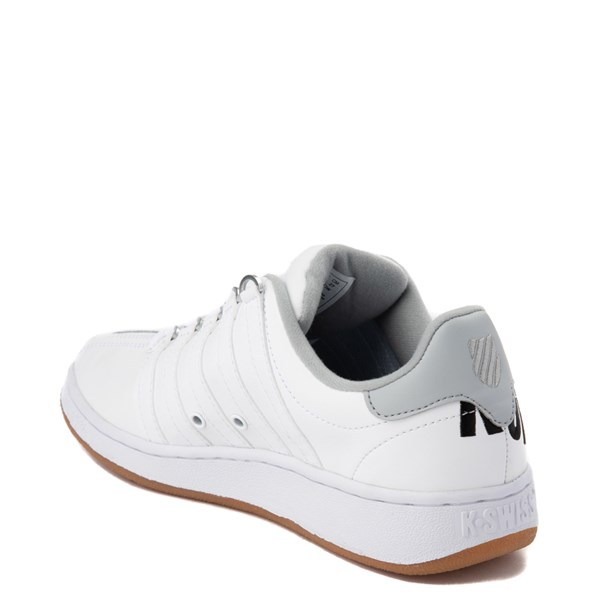 alternate view Mens K-Swiss Classic VN XL Logo Athletic Shoe - White / CharcoalALT2