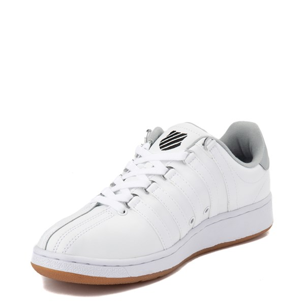 alternate view Mens K-Swiss Classic VN XL Logo Athletic Shoe - White / CharcoalALT3
