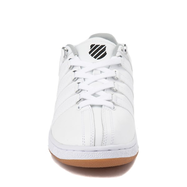 alternate view Mens K-Swiss Classic VN XL Logo Athletic Shoe - White / CharcoalALT4