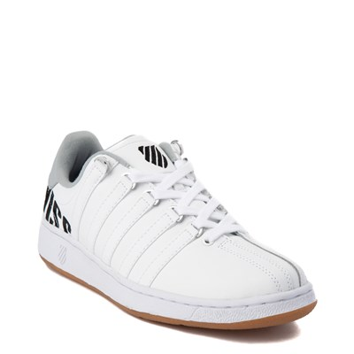 Alternate view of Mens K-Swiss Classic VN XL Logo Athletic Shoe - White / Charcoal