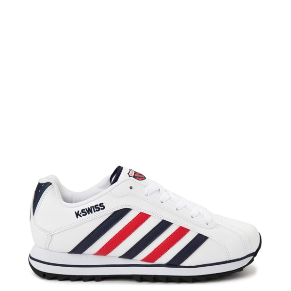 Mens K-Swiss Verstad 2000 S Athletic Shoe - White / Blue / Red