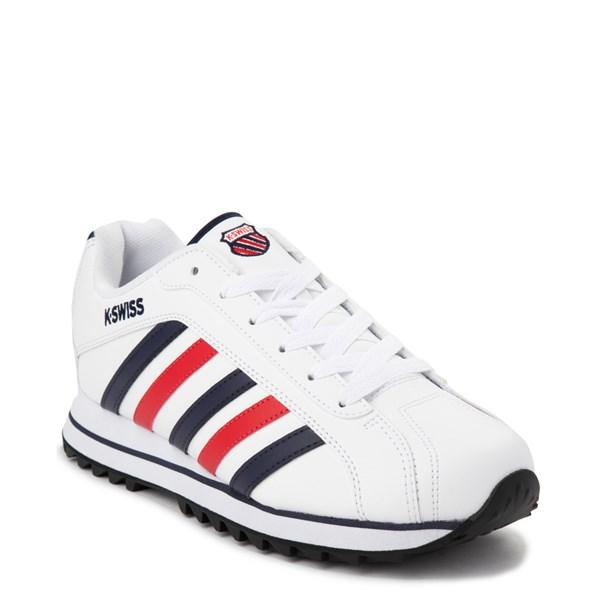 alternate view Mens K-Swiss Verstad 2000 S Athletic Shoe - White / Blue / RedALT1