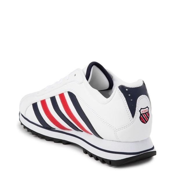alternate view Mens K-Swiss Verstad 2000 S Athletic Shoe - White / Blue / RedALT2