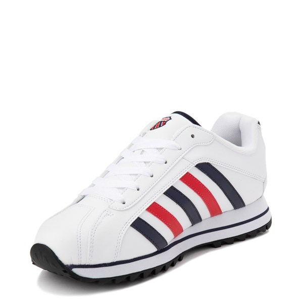 alternate view Mens K-Swiss Verstad 2000 S Athletic Shoe - White / Blue / RedALT3