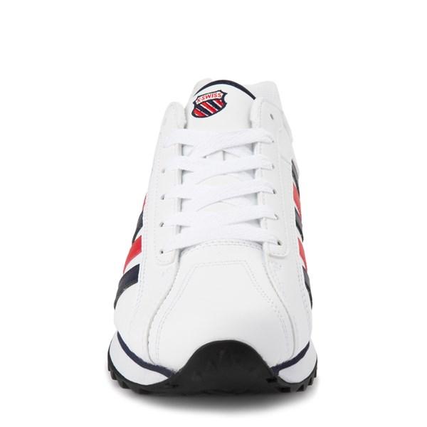 alternate view Mens K-Swiss Verstad 2000 S Athletic Shoe - White / Blue / RedALT4