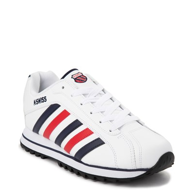 Alternate view of Mens K-Swiss Verstad 2000 S Athletic Shoe - White / Blue / Red