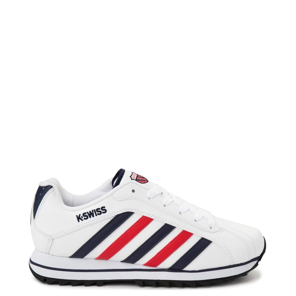 Mens K-Swiss Verstad 2000 S Athletic Shoe - White / Blue / Red