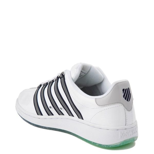 alternate view Mens K-Swiss Classic VN Premium Athletic Shoe - White / Silver / NavyALT