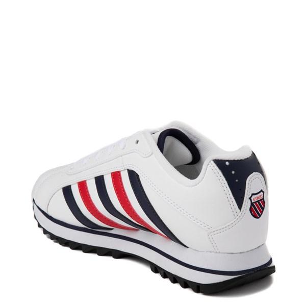 alternate view Womens K-Swiss Verstad 2000 S Athletic Shoe - White / Blue / RedALT2