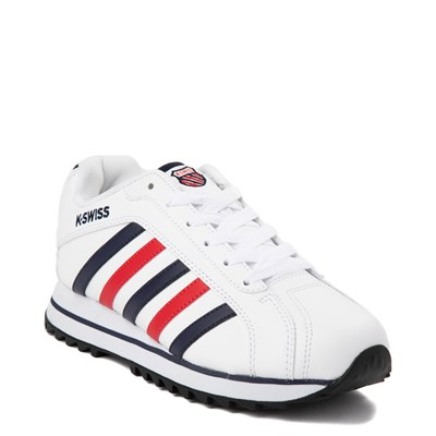 Alternate view of Womens K-Swiss Verstad 2000 S Athletic Shoe - White / Blue / Red