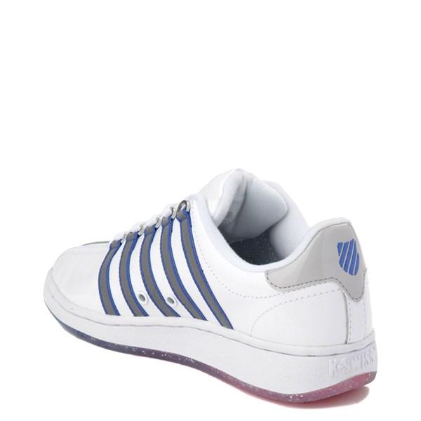 alternate view Womens K-Swiss Classic VN Premium Athletic Shoe - White / Silver / NavyALT2