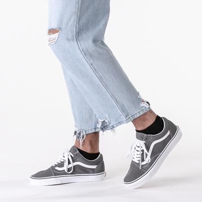 Vans Old Skool Skate Shoe - Pewter Gray   Journeys