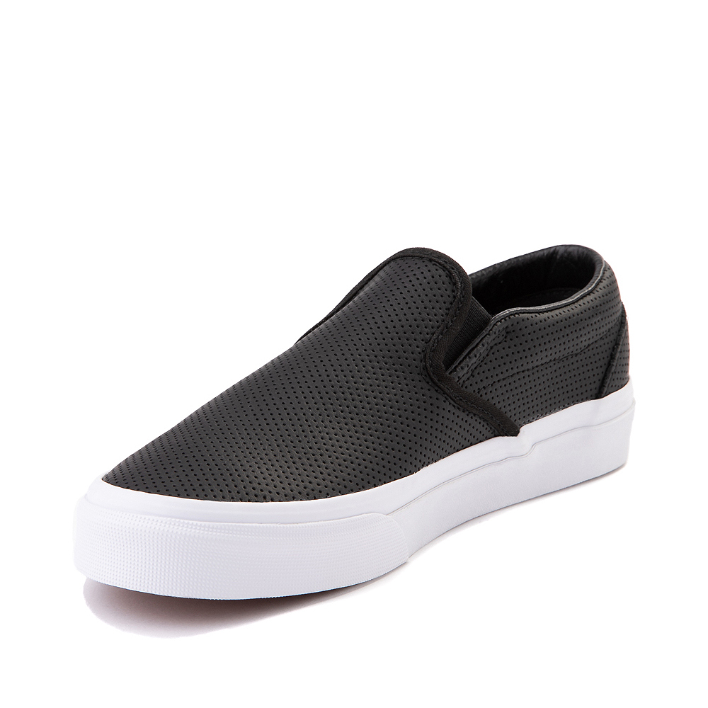 Vans Slip On Leather Perf Skate Shoe