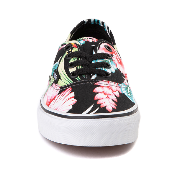 alternate view Vans Authentic Hawaiian Floral Skate Shoe - BlackALT4
