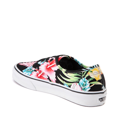 Alternate view of Vans Authentic Hawaiian Floral Skate Shoe - Black
