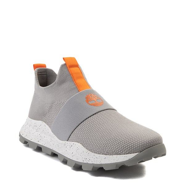 Alternate view of Mens Timberland Brooklyn EK+ Slip On Sneaker - Light Gray