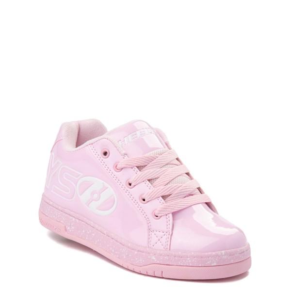 alternate view Heelys Split Skate Shoe - Little Kid / Big Kid - Light Pink / WhiteALT1
