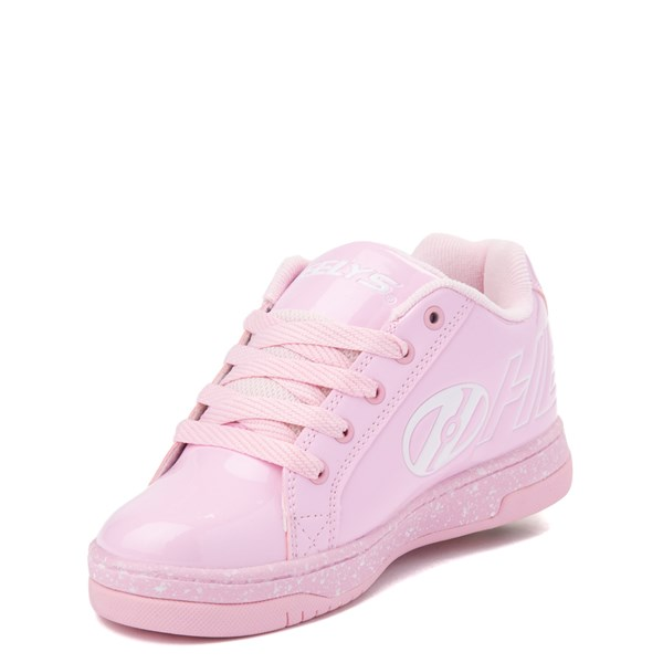 alternate view Heelys Split Skate Shoe - Little Kid / Big Kid - Light Pink / WhiteALT3