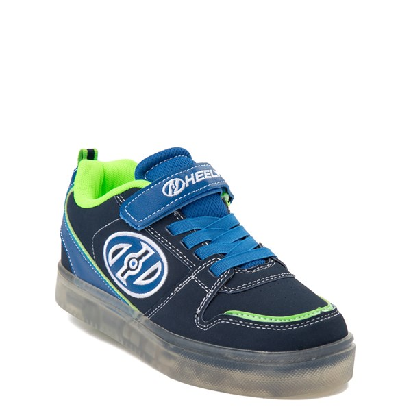 alternate view Heelys Boom X2 Skate Shoe - Little Kid / Big Kid - Navy / Royal Blue / LimeALT1B