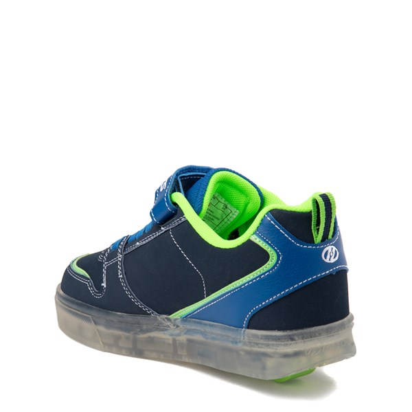 alternate view Heelys Boom X2 Skate Shoe - Little Kid / Big Kid - Navy / Royal Blue / LimeALT2