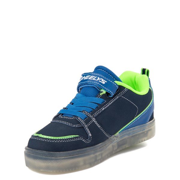 alternate view Heelys Boom X2 Skate Shoe - Little Kid / Big Kid - Navy / Royal Blue / LimeALT3