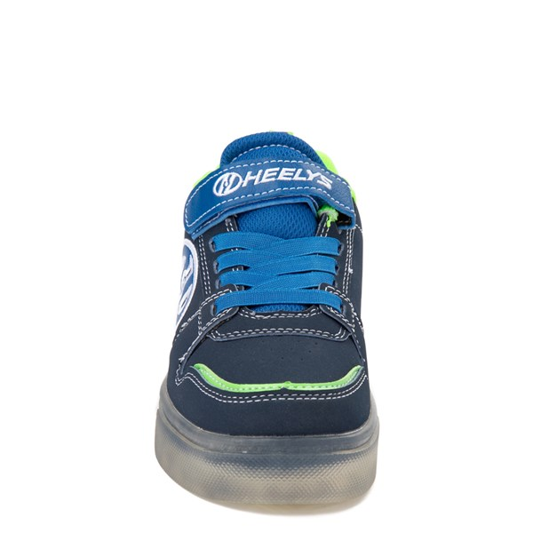 alternate view Heelys Boom X2 Skate Shoe - Little Kid / Big Kid - Navy / Royal Blue / LimeALT4