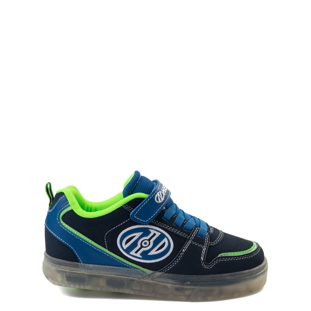 Heelys Boom X2 Skate Shoe - Little Kid / Big Kid - Navy / Royal Blue / Lime
