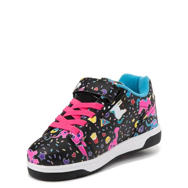 alternate view Heelys Dual Up X2 Skate Shoe - Little Kid / Big Kid - Black / MultiALT3