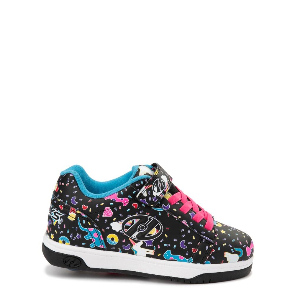 Heelys Dual Up X2 Skate Shoe - Little Kid / Big Kid - Black / Multi