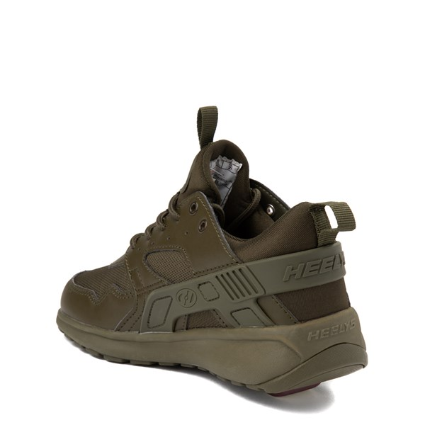 alternate view Heelys Force Skate Shoe - Little Kid / Big Kid - Olive MonochromeALT2-2