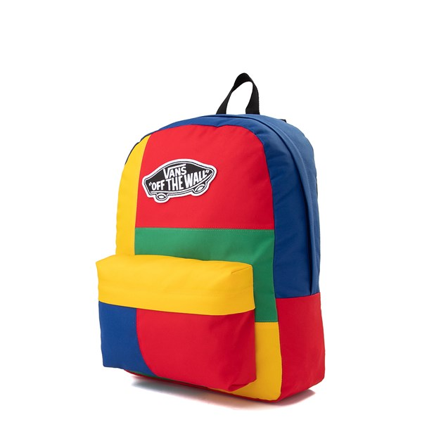 alternate view Vans Realm Patchy Backpack - MulticolorALT2