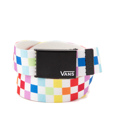 Main view of Vans Checkerboard Web Belt - Multi