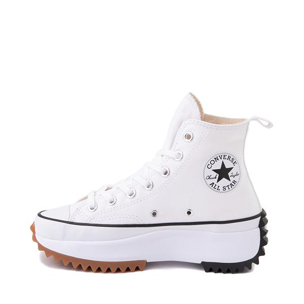 alternate view Converse Run Star Hike Platform Sneaker - White / Black / GumALT1
