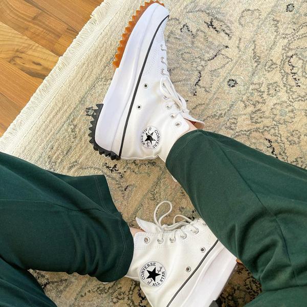 alternate view Converse Run Star Hike Platform Sneaker - White / Black / GumALT1B