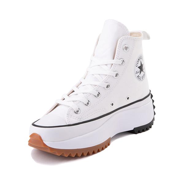 alternate view Converse Run Star Hike Platform Sneaker - White / Black / GumALT2