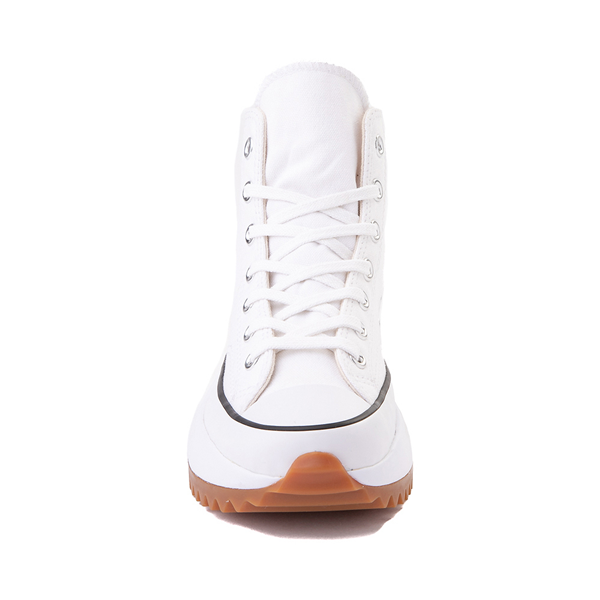 alternate view Converse Run Star Hike Platform Sneaker - White / Black / GumALT4