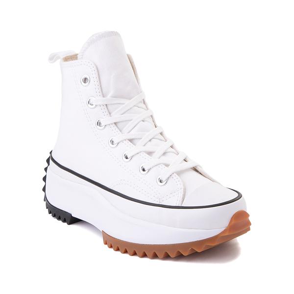 alternate view Converse Run Star Hike Platform Sneaker - White / Black / GumALT5