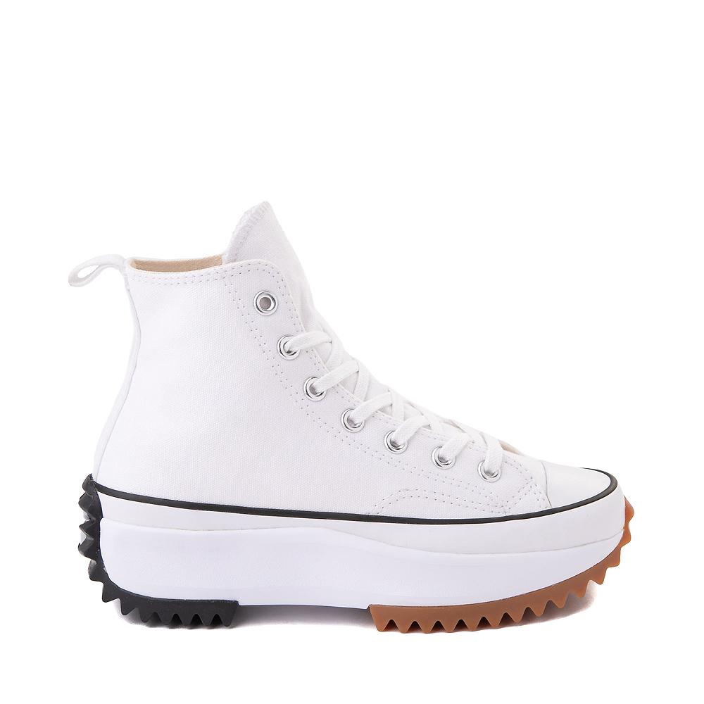 Converse Run Star Hike Platform Sneaker - White / Black / Gum
