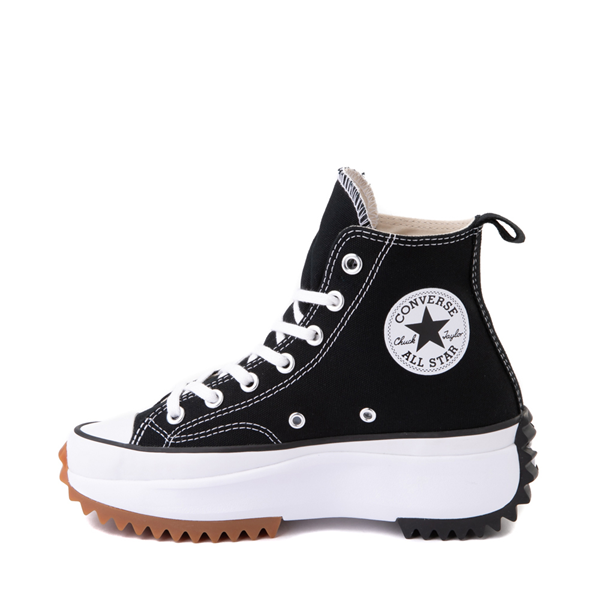 alternate view Converse Run Star Hike Platform Sneaker - Black / White / GumALT1