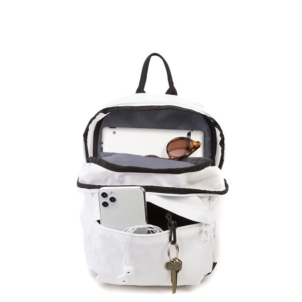 alternate view adidas National Mini Backpack - White / MulticolorALT1