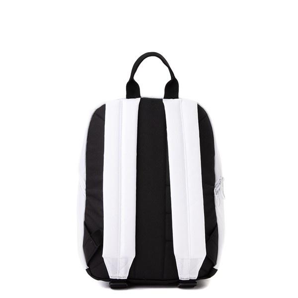 alternate view adidas National Mini Backpack - White / MulticolorALT2