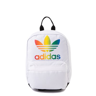 Main view of adidas National Mini Backpack - White / Multi