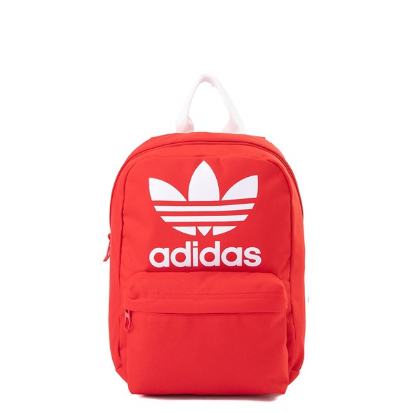 Main view of adidas National Mini Backpack - Lush Red