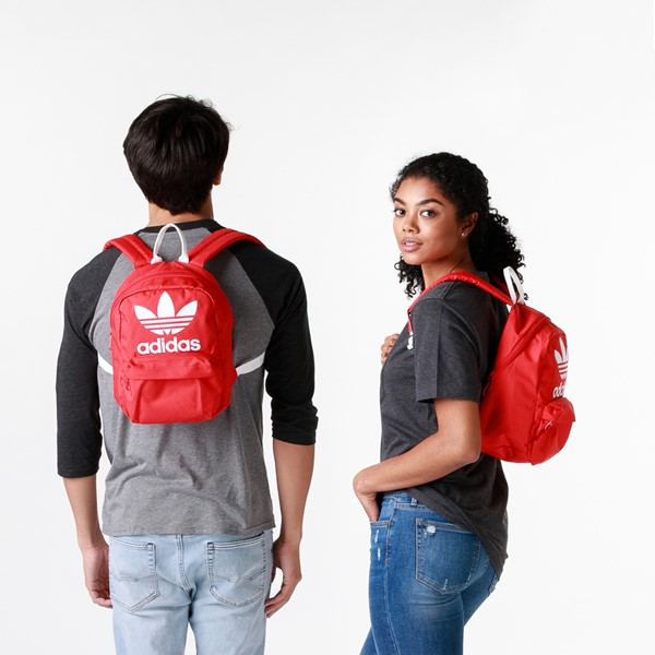 alternate view adidas National Mini Backpack - Lush RedALT1BADULT