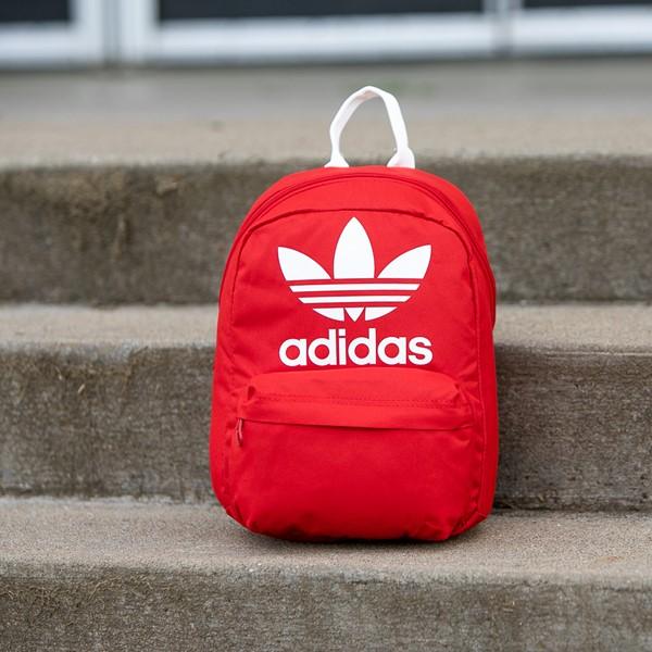 alternate view adidas National Mini Backpack - Lush RedALT1BB