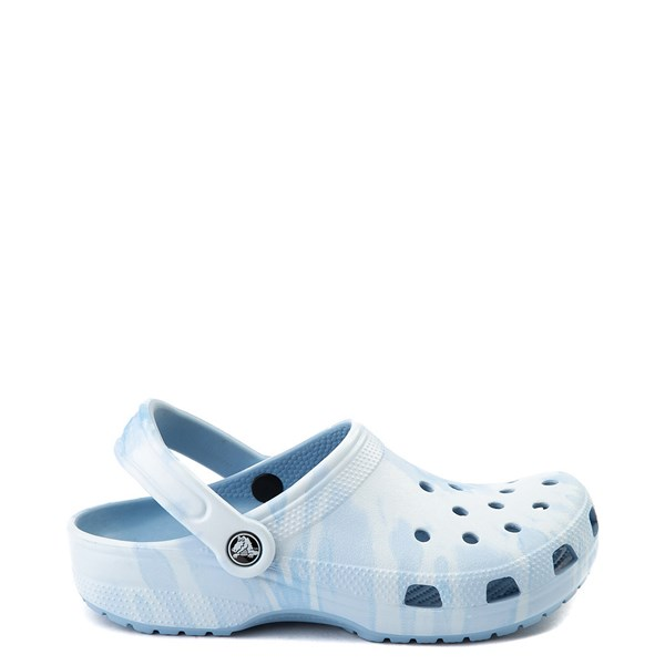 Main view of Crocs Classic Tie Dye Clog - Chambray Blue