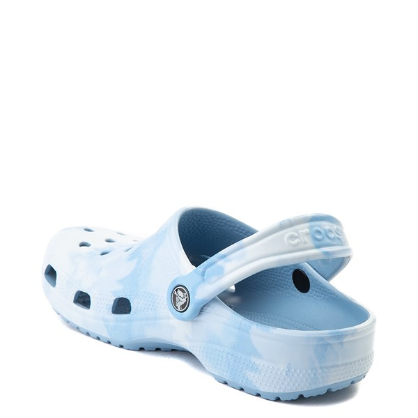 alternate view Crocs Classic Tie Dye Clog - Chambray BlueALT2