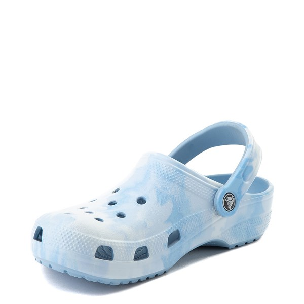 alternate view Crocs Classic Tie Dye Clog - Chambray BlueALT3